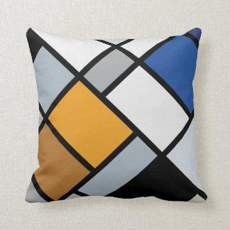 Doesburg - Contra-Composition of Dissonances Throw Pillows