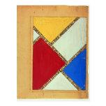 Doesburg-Diseño de Theo para el poster para una ex Postal