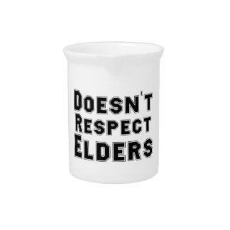 Doesn't Respect Elders Pitcher