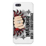 Doesn't Stand A Chance Lung Cancer iPhone 5 Cover