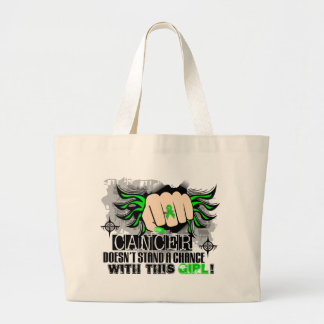 Doesn't Stand A Chance Non-Hodgkin's Lymphoma Tote Bags