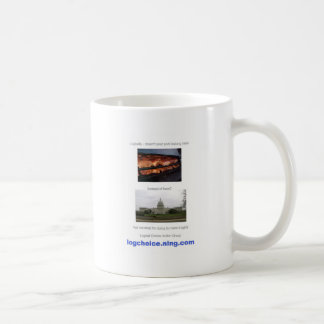 Doesnt your pork belong here coffee mug