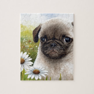Dog 114 Puppy Pug Puzzles