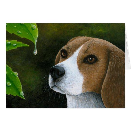 Dog 116 Beagle Greeting Card