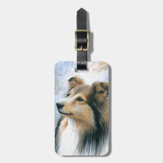 Dog 122 Sheltie Collie Bag Tag