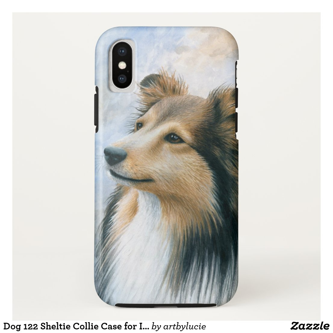 Dog 122 Sheltie Collie Case for Iphone 6