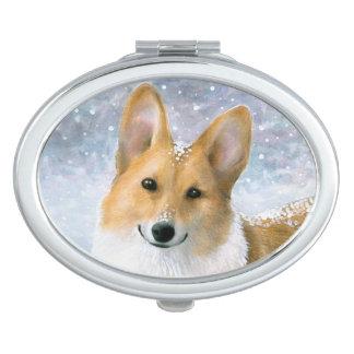 Dog 126 Corgi Makeup Mirror