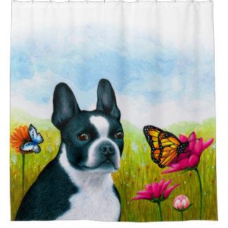 Terrier Shower Curtains   Zazzle