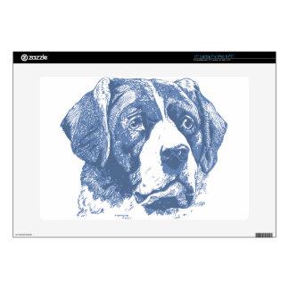 """dog 15"""" laptop skin"""