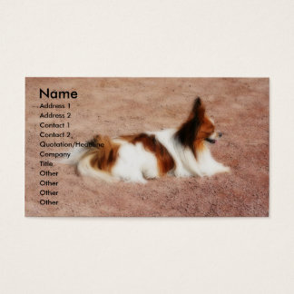 Dog #1 business card