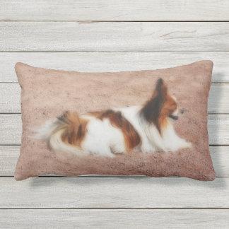 Dog #1 outdoor pillow