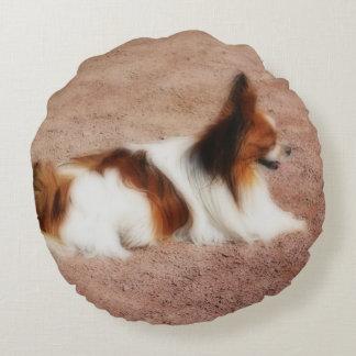 Dog #1 round pillow