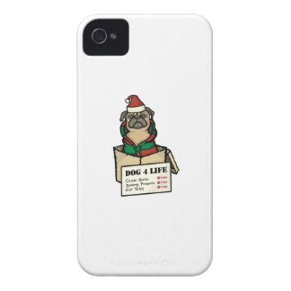 Dog 4 Life - Christmas iPhone 4 Case-Mate Case