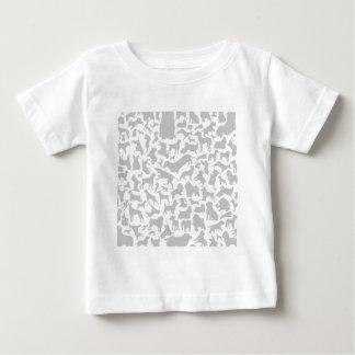 Dog a background t-shirt