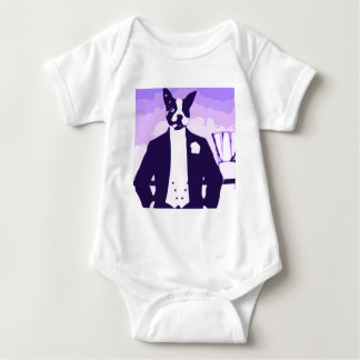 Dog about Town Baby Bodysuit