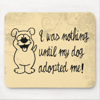 Dog Adoption Mouse Pad