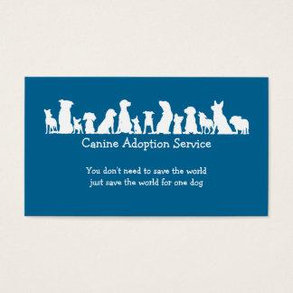 Dog Adoption Service Business Card