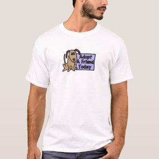 Dog adoption tee shirt