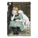 Dog Adoring Girl Victorian Painting Case For The iPad Mini