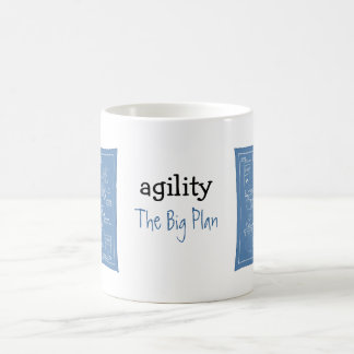 Dog Agility Cartoon - The Big Plan - agility mug
