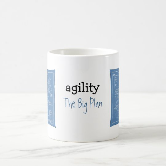 Dog Agility Cartoon - The Big Plan - agility mug