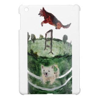 Dog Agility Painting iPad Mini Cover