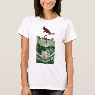 Dog Agility Painting T-Shirt