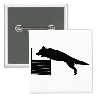 Dog Agility Pinback Button