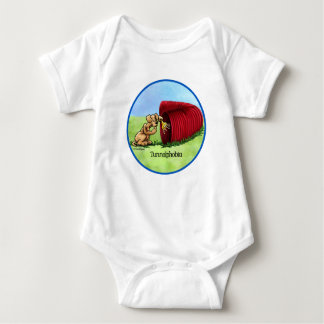 Dog Agility Tunnel baby T-shirt