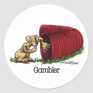 Dog Agility Tunnel stickers