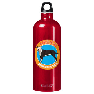 Dog American staffordshire terrier Water Bottle