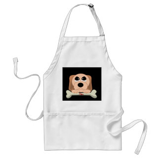 Dog and A Bone Adult Apron