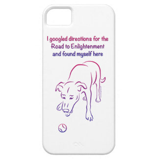 Dog and Ball - Enlightenment iPhone 5 Case