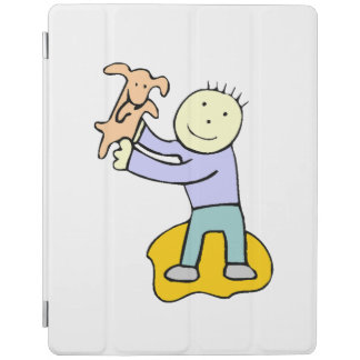 Dog And Boy iPad Cover