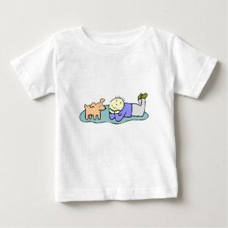 Dog And Boy T Shirts