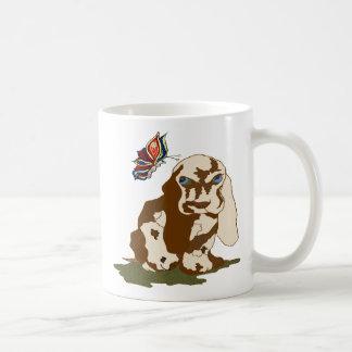 Dog and Butterfly Coffee Mug