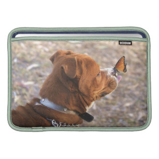 dog and butterfly sleeve for MacBook air