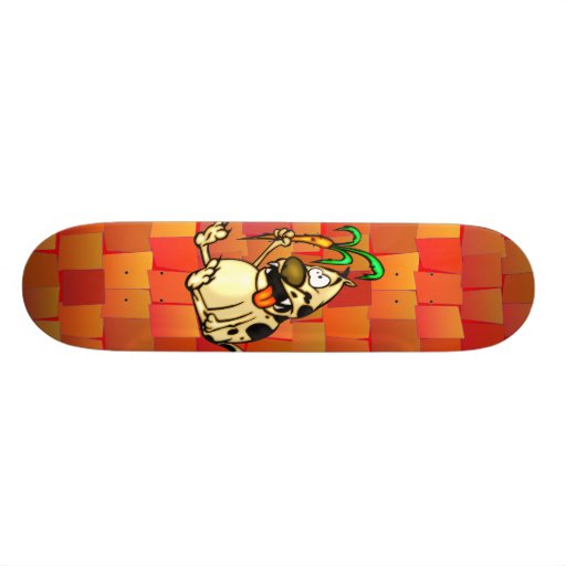 Dog and Carrot Skate Board Decks