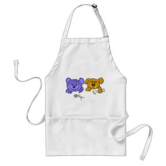 dog and cat adult apron