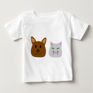 Dog and Cat Best Friend Baby T-Shirt