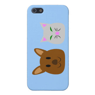 Dog and Cat Best Friend Case For iPhone SE/5/5s