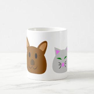 Dog and Cat Best Friend Coffee Mug