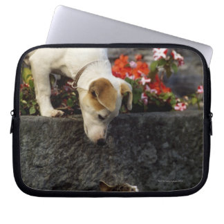 Dog and cat computer sleeve