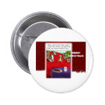 Dog and Cat Cookie Thieves 2 Inch Round Button