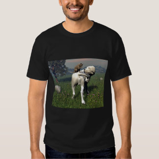 Dog and cat friendship shirt