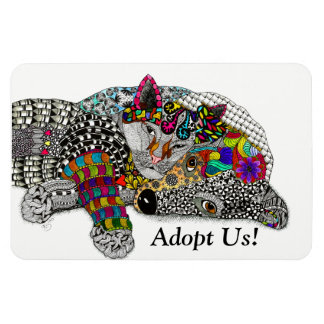 Dog and Cat Magnet (You can Customize)