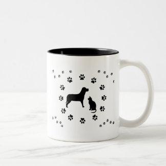Dog and Cat Mug