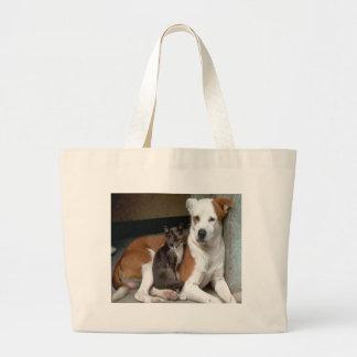 Dog and Cat Tote Bag