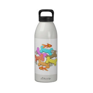 Dog and Cat Treats Reusable Water Bottle
