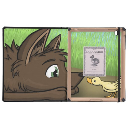 """""""Dog and Duck"""" iPad Cover"""